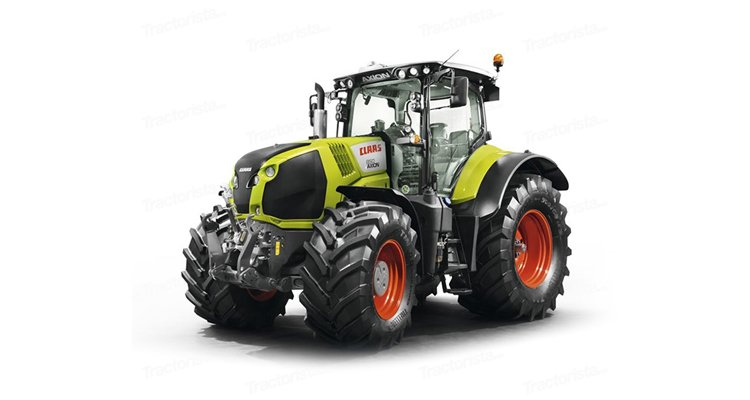 Claas Axion 850 title=