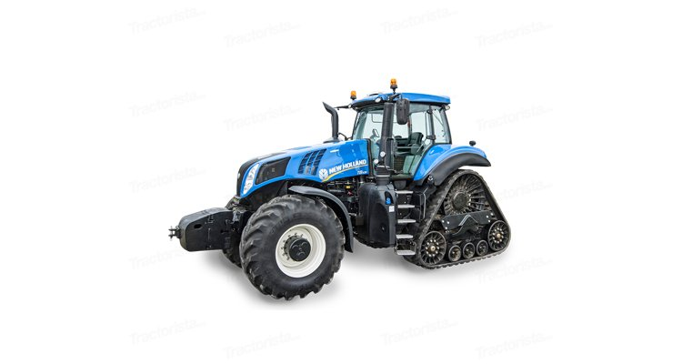New Holland T8.380 Smartrax title=